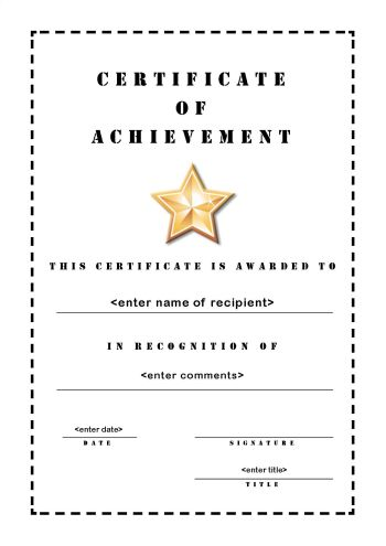 large-blank-Certificate-of-Achievement